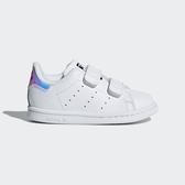 Adidas Stan Smith CF I [AQ6274] 童鞋 運動 休閒 復古 經典 潮流 愛迪達 白 魔鬼氈