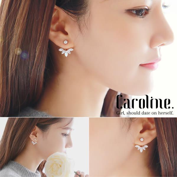 《Caroline》★韓國官網熱賣 優雅浪漫風格時尚流行耳環68855