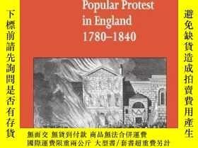 二手書博民逛書店Social罕見Unrest And Popular Protest In England, 1780-1840奇