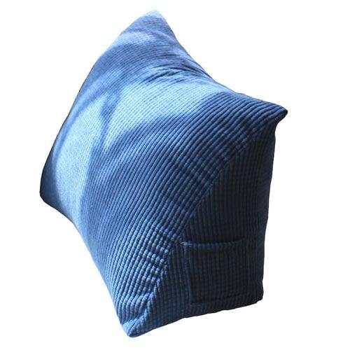 床頭軟包大靠背三角靠墊素色腰靠枕沙髮靠墊抱枕靠枕大號 YXS娜娜小屋