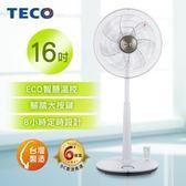 TECO東元 『踏雪尋梅』16吋DC微電腦ECO遙控風扇 XA1689BRD