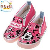 《布布童鞋》Disney迪士尼米妮俏皮粉色兒童帆布休閒鞋(16~20公分) [ M8C611G ]