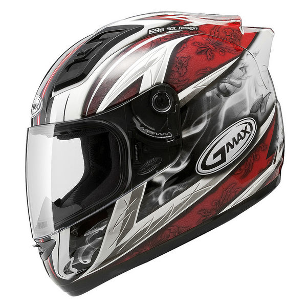 【SOL 69S 戰神 二代 GMAX 外銷版 全罩 安全帽 白紅】68S、免運費、加贈好禮