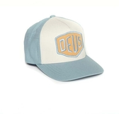 Deus 經典款Logo五分割帽 COLOURSHIELD TRUCKER - 暴風藍