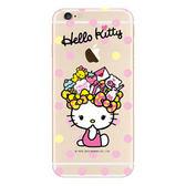 Hello Kitty 彩繪包膜iPhone 6s 6 彩繪膜彩繪貼手機外殼保護貼 包膜K