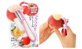 [霜兔小舖]日本製 燕三条 下村工業 水蜜桃.柿子.番茄 軟皮削皮刀 刨刀 薄皮削刀