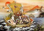 【拼圖總動員 PUZZLE STORY】幸福的夢 日系/ROAD/東洋繪畫/吉祥畫/2000P