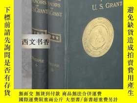 二手書博民逛書店Grant,罕見Ulysses S著《美國總統格蘭特的回憶錄》2