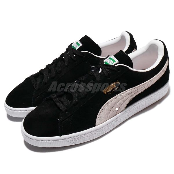 Puma 休閒鞋 Suede Classic 麂皮 黑 白 基本款 男鞋 女鞋 情侶鞋【PUMP306】 35263403