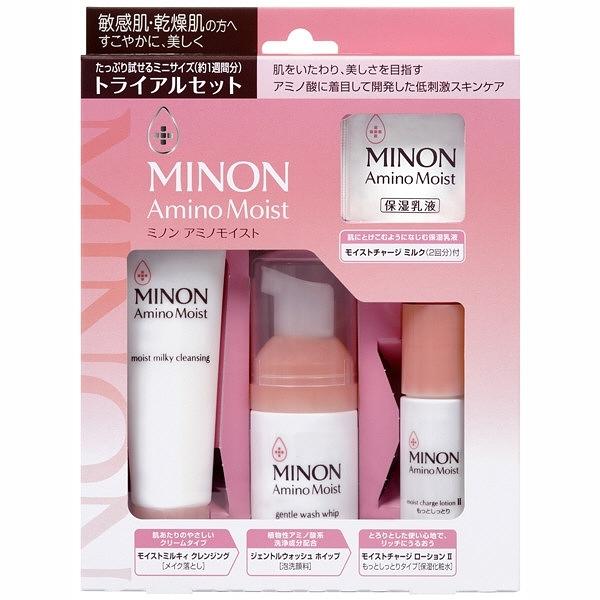 日本MINON AMINO MOIST 敏感肌·乾燥肌 保濕旅行組