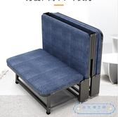 折疊床  寶折疊床板式單人家用成人午休床辦公室午睡床簡易便攜四折床