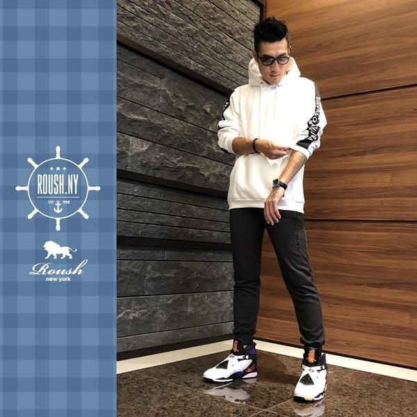 【Roush】 翻玩CHAMPION立體刺繡束口棉褲 -【920565】