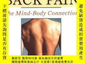 二手書博民逛書店Healing罕見Back Pain: The Mind-Bod