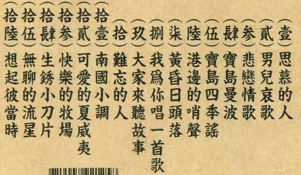 洪一峰典藏集5  CD (音樂影片購)