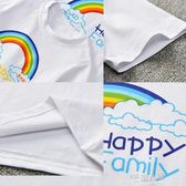 親子裝短袖T恤夏裝男女童上衣 2019一家三口母女母子 9號潮人館