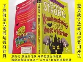 二手書博民逛書店krankenstein s罕見crazy house of horror:克蘭肯斯坦的瘋狂恐怖之家.Y212