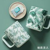 馬克杯大容量陶瓷杯早餐杯果汁杯办公杯情侣杯子带盖 XW3668【極致男人】