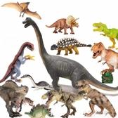 超大號恐龍玩具蛋塑膠仿真動物霸王龍模型男孩套裝侏羅紀世界YXS小宅妮