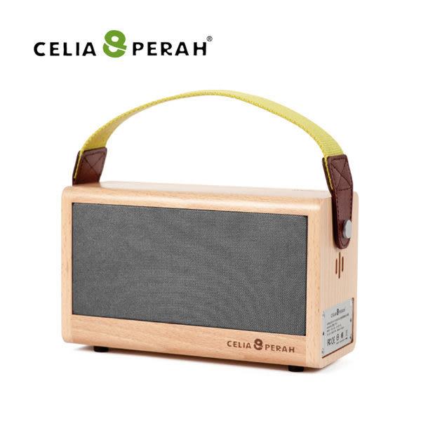 【EC數位】CELIA&PERAH P3 II 無線高傳真實木音響 藍牙喇叭