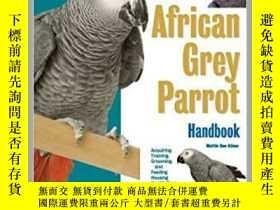 二手書博民逛書店寵物鳥The罕見African Grey Parrot Hand