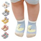 兒童襪 鬆口寶寶地板襪子雲朵天氣船襪JoyBaby