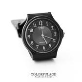 黑色CASIO卡西歐簡約基本款手錶 有保固 中性款腕錶 優質店家【NE1065】原廠公司貨