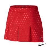 NIKE點點系列休閒排汗女高爾夫球裙(紅)744810-657