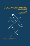 二手書《Goal Programming: Methodology and Applications: Methodology and Applications》 R2Y ISBN:0792395581