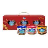 美國藍鑽杏仁 3入禮盒 新年限定 (蜂蜜鹽烤+煙燻+鹽烤) -170g/罐-波比元氣生活網
