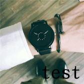 店慶優惠兩天-流行女錶正韓個性概念手錶男中學生正韓簡約休閒復古潮流創意女錶