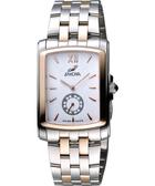 ENICAR 英納格 典藏小秒針石英女錶-白x雙色版 266-32-25G