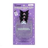 小禮堂 酷洛米 造型透明吊飾保護套組 鑰匙收納套 鑰匙圈套 (3入 紫 演唱會粉絲收納) 4550337-00208