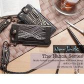 【A Shop】NavJack iPhone 6s/6 掛繩式卡夾站立皮套-共兩色