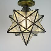 五角星過道走廊陽台臥室吸頂燈  igo