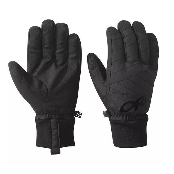 [OUTDOOR RESEARCH] Men's Riot Gloves 防潑水保暖手套 / 黑 (OR271554-0001)