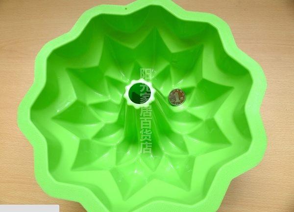 [協貿國際]  10寸大號花矽膠蛋糕模具