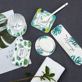 北歐風 硅藻土吸水防滑杯墊 杯墊 肥皂盤 皂托 吸水墊 乾燥 除濕 防潮 珪藻土 硅藻土 居家