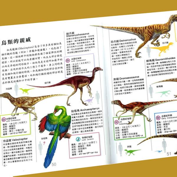 小牛津 兒童恐龍大百科 彩色精裝 童書 0572 好娃娃