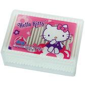 Kitty紙軸棉花棒200支盒裝【愛買】