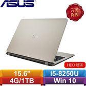 【送旅行收納袋】ASUS X507UB-0381C8250U 15.6吋 霧面金