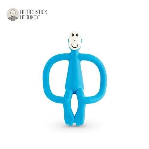 英國Matchstick Monkey 咬咬猴牙刷固齒器-藍懶猴[衛立兒生活館]