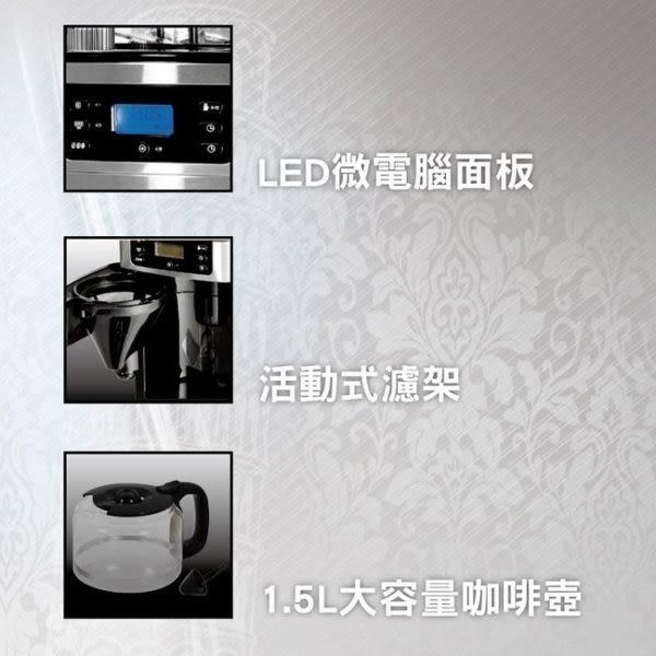 義大利Balzano 全自動可調式研磨咖啡機 BZ-CM1566