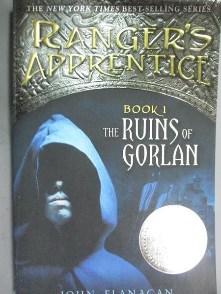 【書寶二手書T6/原文小說_HEI】The Ruins of Gorlan_Flanagan, John
