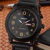 手錶 運動錶 雙顯示日歷錶 夜光石英腕錶【非凡商品】w71