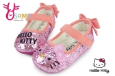 Hello kitty 小童娃娃鞋 台灣製 獨特款 寶寶鞋F3034#粉紅◆OSOME奧森鞋業