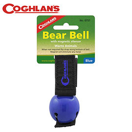丹大戶外【Coghlans】加拿大 COLORED BEAR BELL WITH MAGNETIC SILENCER 熊鈴(藍) 0757