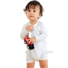 E.Dens伊登詩 鋅纖維 鋅健康 嬰兒蝴蝶裝(藍)(60cm/70cm/80cm)[衛立兒生活館]