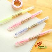 ✭米菈生活館✭【P211】壓克力雙頭螢光筆 文具 學生 辦公用品 彩色 塗鴉 記號 標記筆