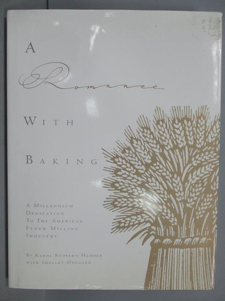 【書寶二手書T4/餐飲_POD】A Romance With Baking