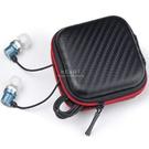多功能斜紋耳機收納包 外出旅行 耳機收納